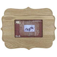"6"" x 4"" Samuel Wood Funky Frame   Shop Hobby Lobby $7.99"