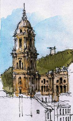 Málaga, cathedral by Luis_Ruiz, via Flickr