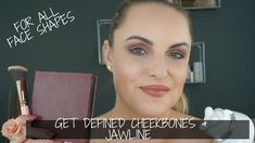 I am sharing my tips on how to get defined cheekbones & jawline for all face shapes. I know a lot of us want to really define these portions of the face but . Beauty Tutorials, Jawline, Face Shapes, My Beauty, Contour, Makeup Tips, Anti Aging, Red Carpet, Routine