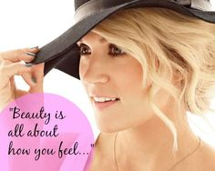 Carrie Underwood on what makes a woman truly beautiful...