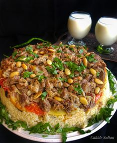 A great flavor! Try the macro with my recipe. you& love salad salad salad recipes grillen rezepte zum grillen Healthy Salads, Meat Recipes, Healthy Dinner Recipes, Kurdish Food, Dinner Salads, Pasta Salad Recipes, Turkish Recipes, Easy Meals, Cooking