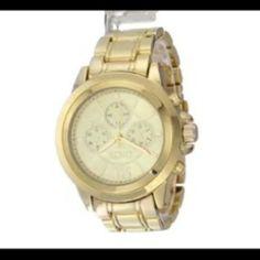 Video Reloj Xoxo Dorado