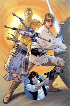 Greg Land (1956) dibujante de cómic americano.- Star Wars