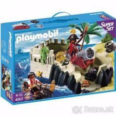 PLAYMOBIL Ostrov piratov + 2 krabice playmobil zdarma - 1