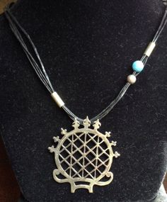 Necklace-Silver Hitit sun kursu custom disagn