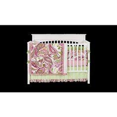 Pink paisley bedding! Love!