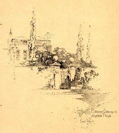 Herbert Railton (1857-1910) - Entrance Gateway to Scardale House