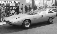 Alfasud Caimano - Introduced at the Turin Motor Show in 1971