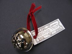 Creative Lesson Cafe - Love this ornament gift! Polar Express Bell, Polar Express Theme, Polar Express Movie, Polar Express Train, Christmas Activities For School, Christmas Crafts For Kids, A Christmas Story, Christmas Fun, Kindergarten Christmas