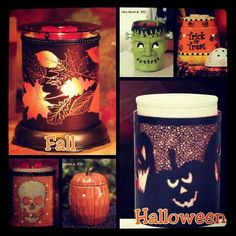 Wickless candles and scented fragrance wax for electric candle warmers and scented natural oils and diffusers. Shop for Scentsy Products Now! Scented Wax, Hallows Eve, Scentsy, Winter Christmas, Fall Halloween, Candle Jars, Harvest, Holiday Decor, Creative