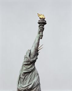 Statue of Liberty.  It's in NJ people, not NY....