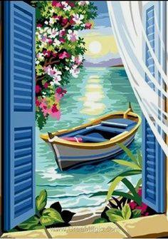 Easy Canvas Painting, Diy Canvas Art, Watercolor Illustration, Watercolor Art, Poster Color Painting, Art Et Nature, Indian Art Paintings, Cool Art Drawings, Pastel Art