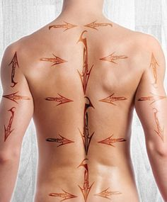 How to Map for Men's back waxing. This is a beginners map on how to APPLY wax for back waxing. Always pull your strip in the opposite direction.