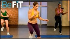 Jillian Michaels Banish Fat Boost Metabolism: Cardio Warm Up, via YouTube.