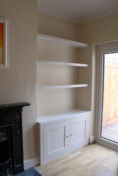 Hallway Furniture Storage Foter Living Room Shelves New Built In Cupboards