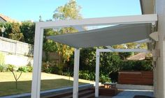 Outrigger Awnings - Retracting Awning with Poles and Frame
