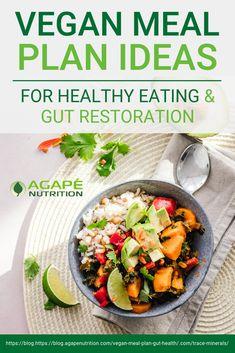 Health Meal Plan, Healthy Eating Meal Plan, Vegan Meal Plans, Healthy Vegetarian Diet Plan, Health Meals, Clean Eating, Food For Digestion, Healthy Vegan Breakfast, Vegan Clean