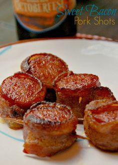 Sweet Bacon Pork Shots