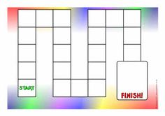 Editable Game Board Templates: Click FREE DOWNLOAD right above the picture of the color game board. (You will get a zip file with b/w and color versions of the board which you can instantly customize.)