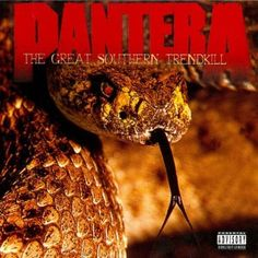 Pantera The Great Southern Trendkill on 180g 2LP Originally released in 1996, The Great Southern Trendkill is an often overlooked album in the Pantera catalog especially considering it had the difficu