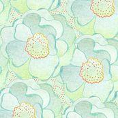 Dawn blossoms - sandeehjorth - Spoonflower