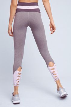 Slated Colorblock Leggings