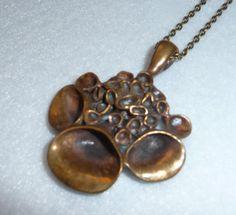 Pendant. Hannu Ikonen Finland. Bronze. Vintage. by OsmanieJewelry