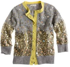 crewcuts for kids sweaters Girls' fairy-dust sequin cardigan