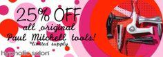 25% off Tools! - Top Hair Salon Las Vegas by Hypnotic paul mitchell, salon tools, paul mitchell tools, salon las vegas, hair las vegas, hair salon, hair