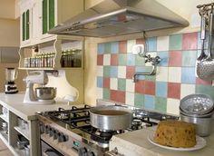decoracion de cocinas pequeñas con mayolicas1
