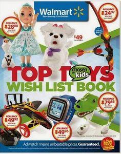 My Milwaukee Mommy - Extreme Couponing Milwaukee: Walmart 2014 - Top Toys Wish List Book
