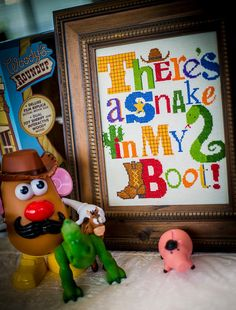 Toy Story / There's a Snake in My Boot / Cross par fiddlesticksau, $9.05