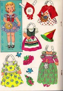 Sharon's Sunlit Memories: Paper Dolls