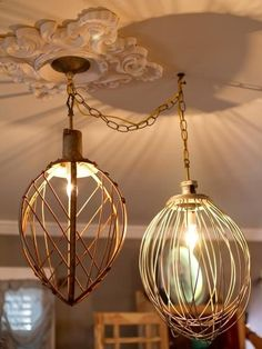 Dont spend a lot on lighting: Learn how to repurpose old household items into new lamps, pendants and chandeliers.
