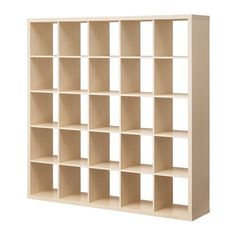 IKEA - KALLAX, Shelf unit, birch effect, , You can use the furniture as a room divider because it looks good from every angle.