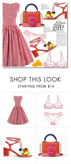 """#36"" by aida-nurkovic ❤ liked on Polyvore featuring Kate Spade and vintage"