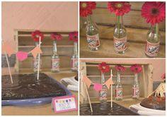 Ideias para festa junina: junte flores, tags fofas, chapéu de palha, comidinhas deliciosas, amigos reunidos e pronto, festa garantida!