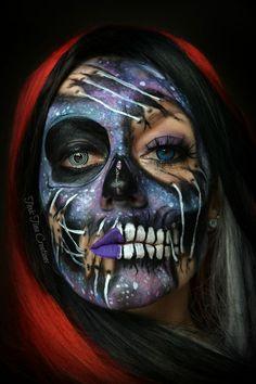Galaxy skull thing lol halloween makeup - https://www.luxury.guugles.com/galaxy-skull-thing-lol-halloween-makeup/