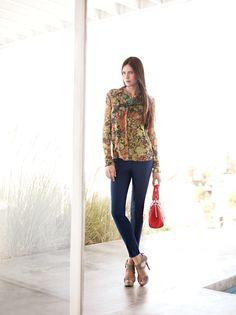 Simply Vera Vera Wang handbags add a pop of spring color. #Kohls