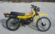 1977- Yamaha DT100