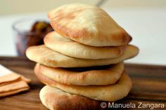 Cabbuci - Sicilian bread made with durum wheat flour and traditionally cooked in a wood fired oven.