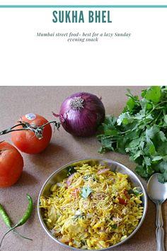 Cereal Recipes, Meat Recipes, Vegetarian Recipes, Potato Puffs, Mumbai Street Food, Puffed Rice, Home Chef, Lazy, Breakfast Recipes