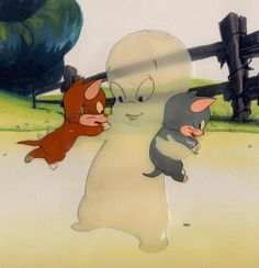 Harveytoons / Famous Studios - Casper The Friendly Ghost Cels Drawings