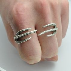 Double Finger Claw Ring, now featured on Fab.