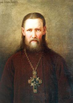 Портрет отца Иоанна Кронштадтского Михаила Брянского
