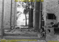 Tara in Ruins at Forty Acres - circa 1959