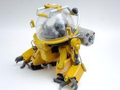 Dirigible Steampunk, Robot Cute, Big Robots, Mecha Suit, Robot Concept Art, Gunpla Custom, Lego Design, Old Toys, Gundam