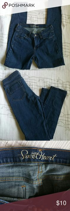 Old Navy Sweetheart Jeans EUC wore a handfull of times Skinny jean Style Smoke free pet free home Old Navy Jeans