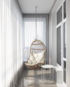 Small Balcony Design, Small Balcony Decor, Small Space Interior Design, Home Room Design, Home Interior Design, Living Room Designs, House Design, Classic Interior, Small Apartment Interior