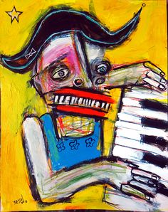2013 painting by DC artist Matt Sesow  (new.sesow.com)
